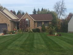 Ball park lawn mowing lines Hartville, OH